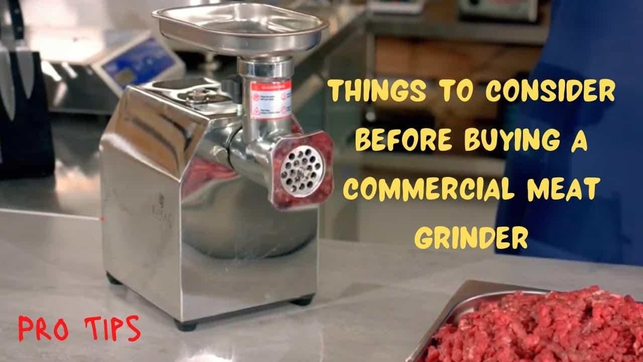 best-commercial-meat-grinder
