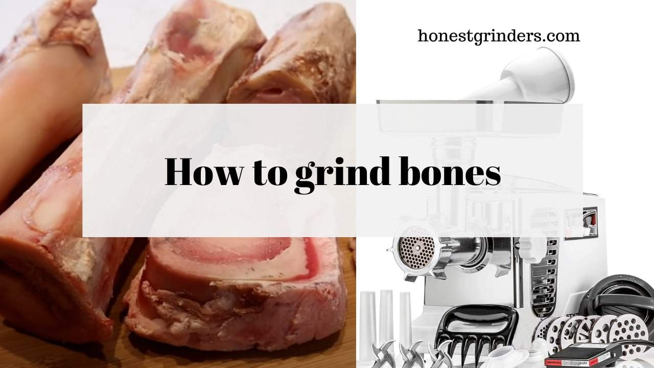 Need pet food from bones? Here is how to grind bones