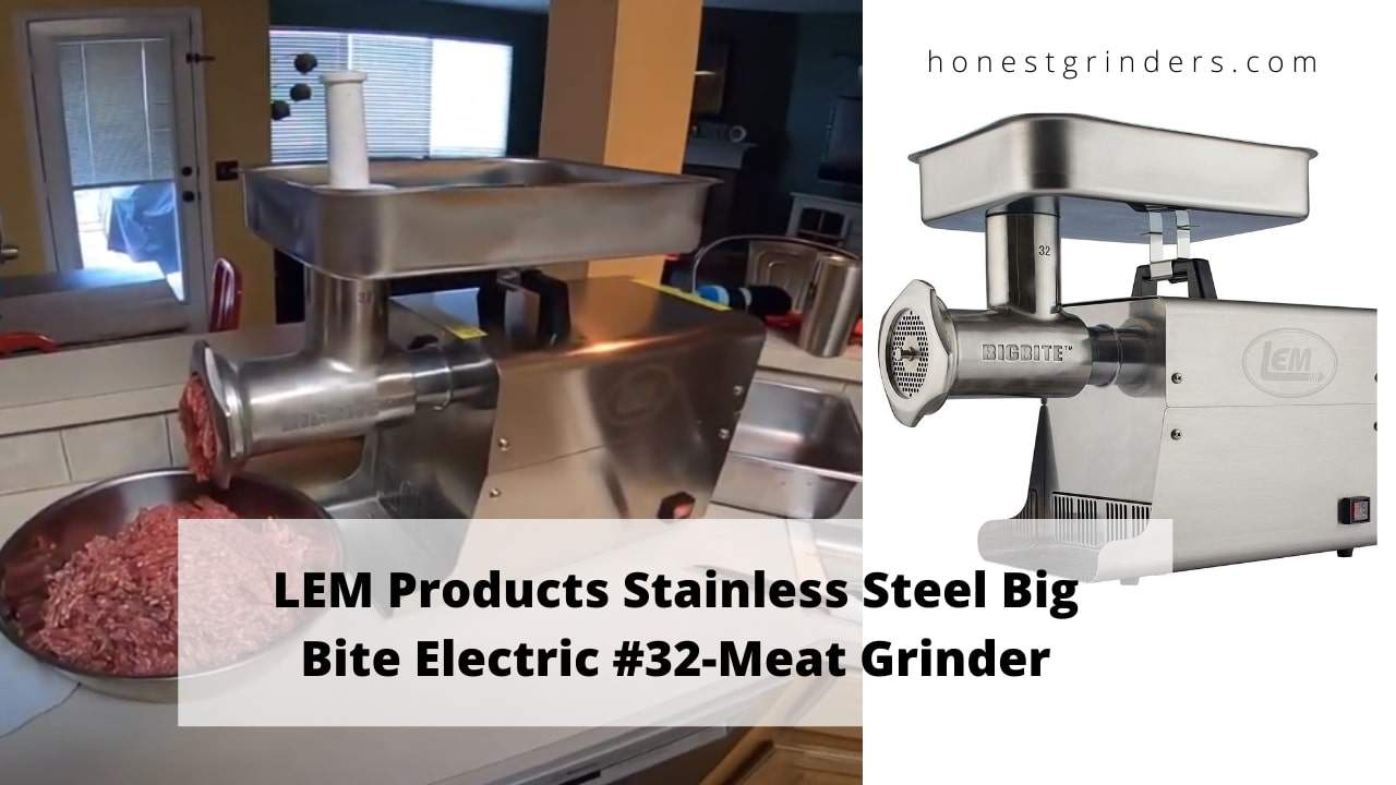 LEM Products #32 - 1.5 HP Electric Meat Grinder