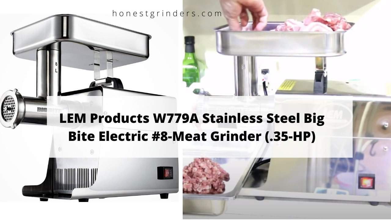 Lem 8 Meat Grinder Reviews | .35 HP