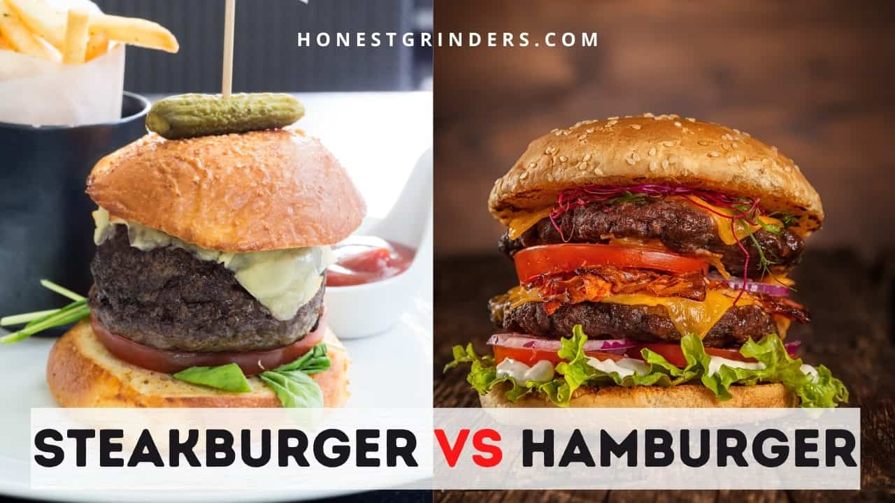Steakburger vs Hamburger