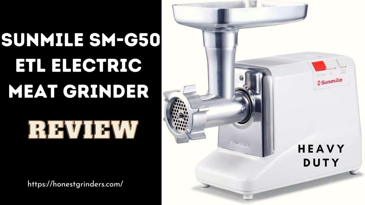 Sunmile SM-G50 ETL Electric Meat Grinder